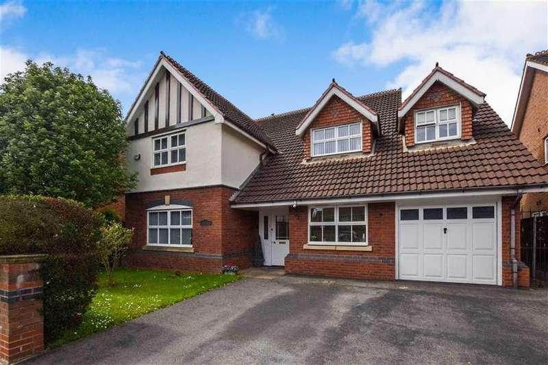 4 Bedrooms Detached House for sale in Gresham Way, Sale, M33