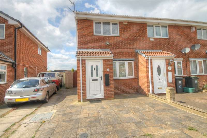 2 Bedrooms End Of Terrace House for sale in Sutcliffe Court, Darlington, DL3