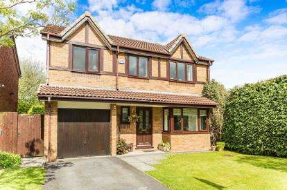 5 Bedrooms Detached House for sale in Dunham Close, Westhoughton, Bolton, Greater Manchester, BL5