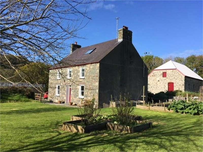 4 Bedrooms Detached House for sale in Felin Llwyngwair (Llwyngwair Mill), Newport, Pembrokeshire