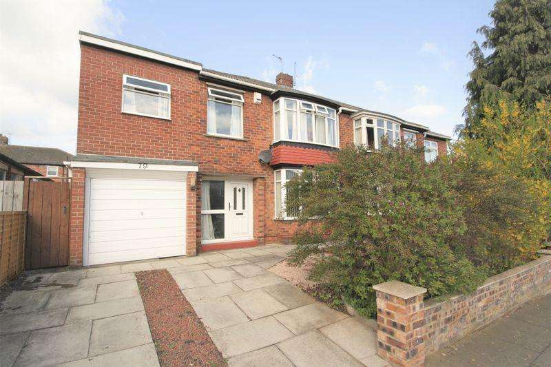 3 Bedrooms Semi Detached House for sale in Upsall Grove, Fairfield, Stockton, TS19 7QP