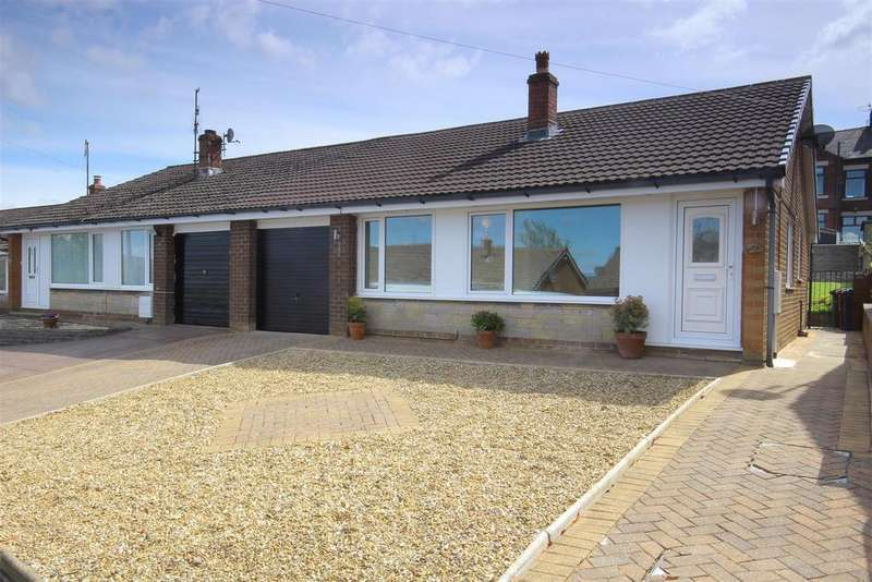 2 Bedrooms Semi Detached Bungalow for sale in Moorland Road, Langho