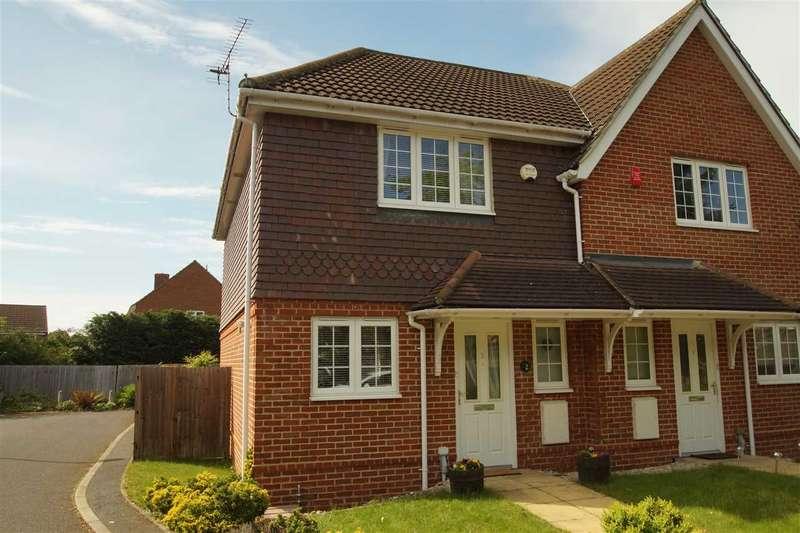 2 Bedrooms Semi Detached House for sale in Berrington Mews, Lower Cippenham Lane, Cippenham
