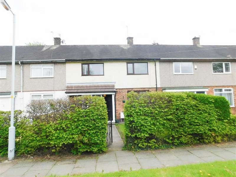 3 Bedrooms Terraced House for sale in Wilmcote Gardens, Bredbury, Stockport