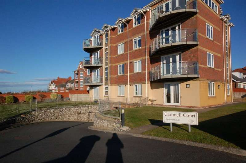 2 Bedrooms Ground Flat for sale in 3 Cartmell Court, 139 South Promenade