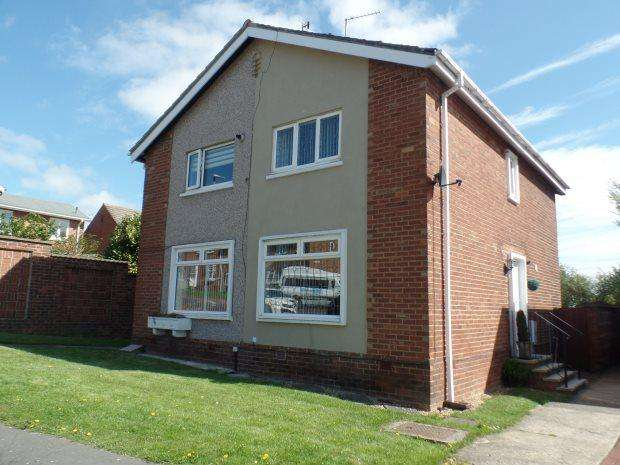 2 Bedrooms Semi Detached House for sale in NEVILLE ROAD, PETERLEE, PETERLEE