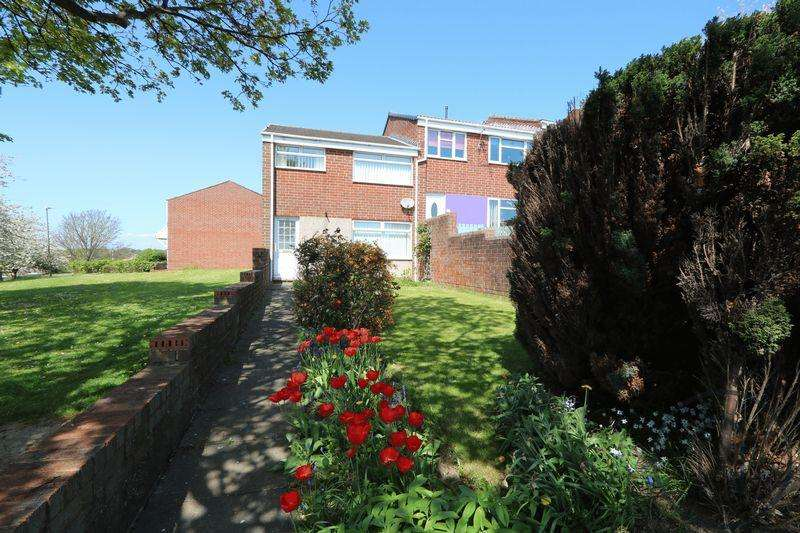 3 Bedrooms End Of Terrace House for sale in Tynedale Walk, Shildon