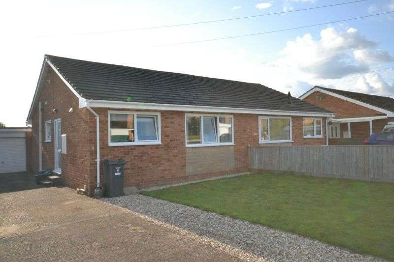 2 Bedrooms Semi Detached Bungalow for sale in ELY CLOSE, FENITON