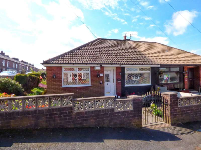 3 Bedrooms Semi Detached Bungalow for sale in Marlborough Road, Royton, Oldham, Greater Manchester, OL2