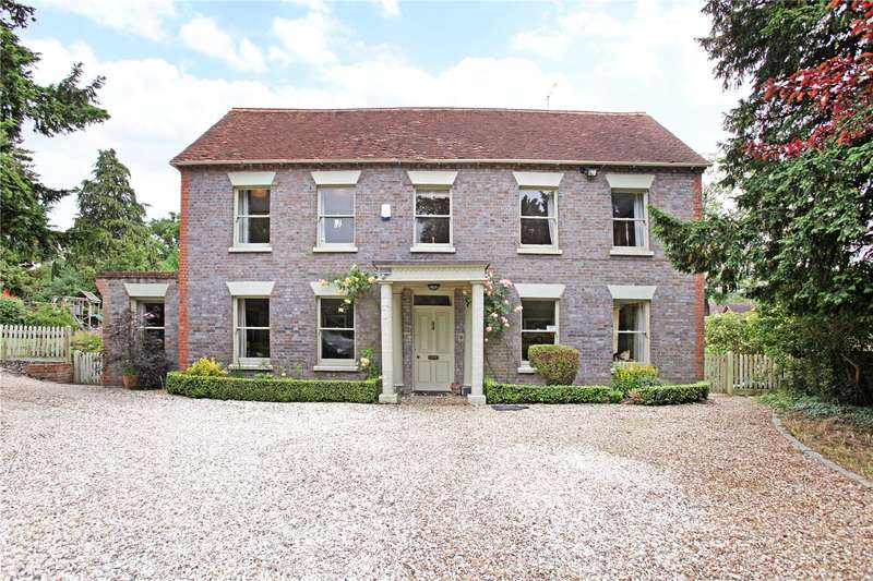 6 Bedrooms Detached House for sale in Marlston Road, Hermitage, Thatcham, Berkshire, RG18