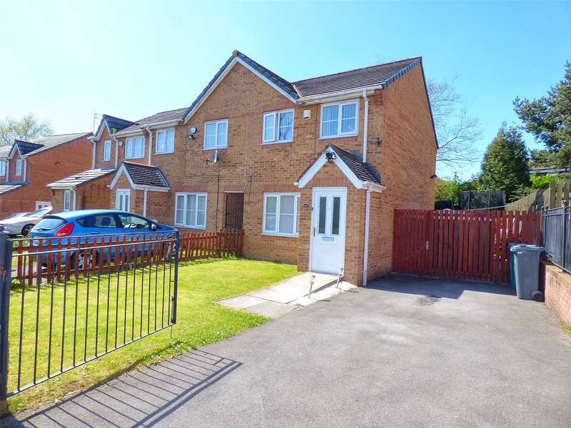 2 Bedrooms End Of Terrace House for sale in Everside Drive, Cheetwood, Manchester, M8
