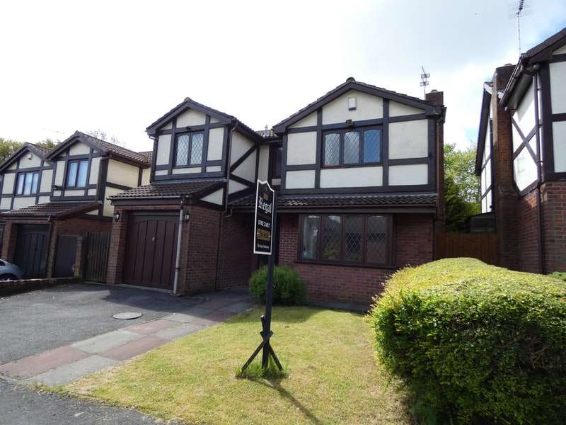 4 Bedrooms Detached House for sale in Satinwood Close, Wigan, Greater Manchester, WN4
