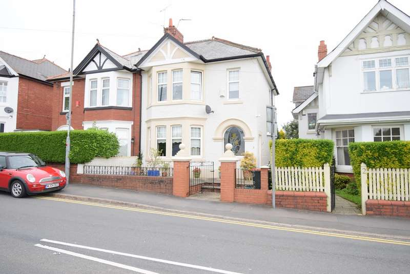 5 Bedrooms Semi Detached House for sale in Lodge Road, Caerleon, Newport, NP18