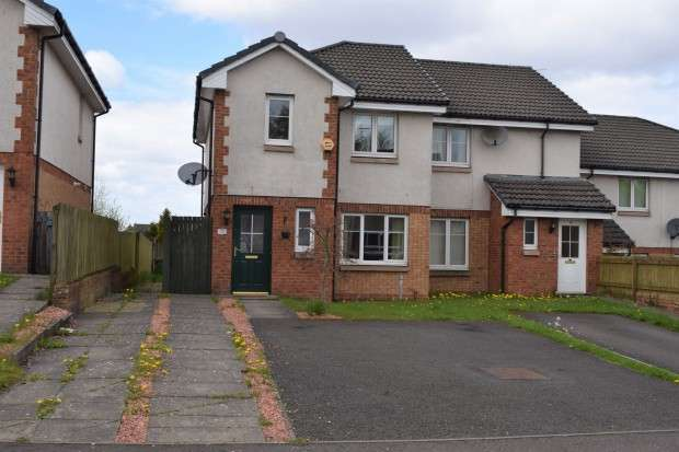 3 Bedrooms End Of Terrace House for sale in Hardridge Road, Corkerhill, G52