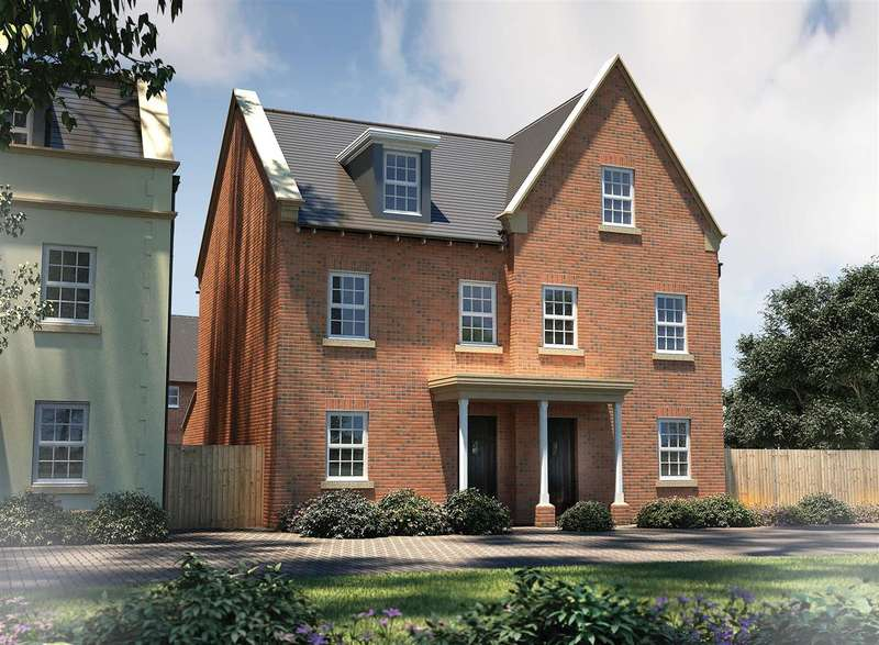 3 Bedrooms Semi Detached House for sale in The Acton, Seabrook Orchards, Topsham