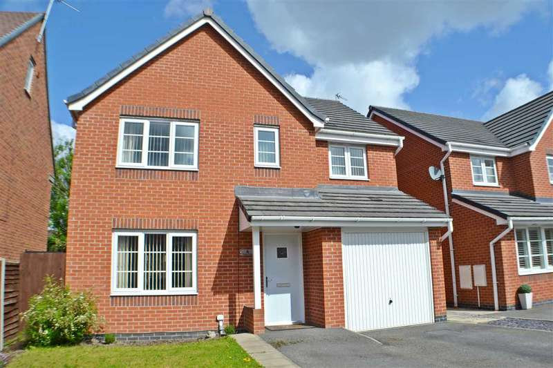 4 Bedrooms Detached House for sale in Dallas Drive, Great Sankey, Warrington