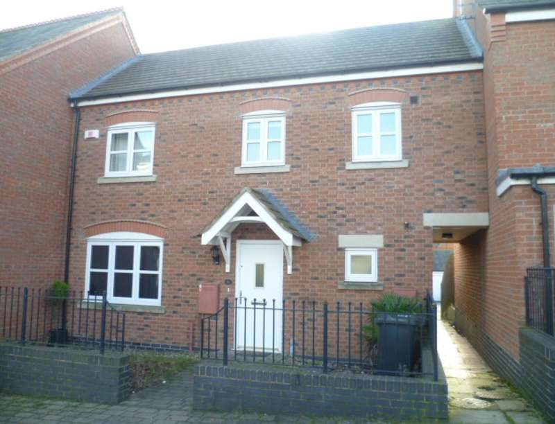 3 Bedrooms Property for sale in Little Connery Leys, Birstall, Leicester, LE4