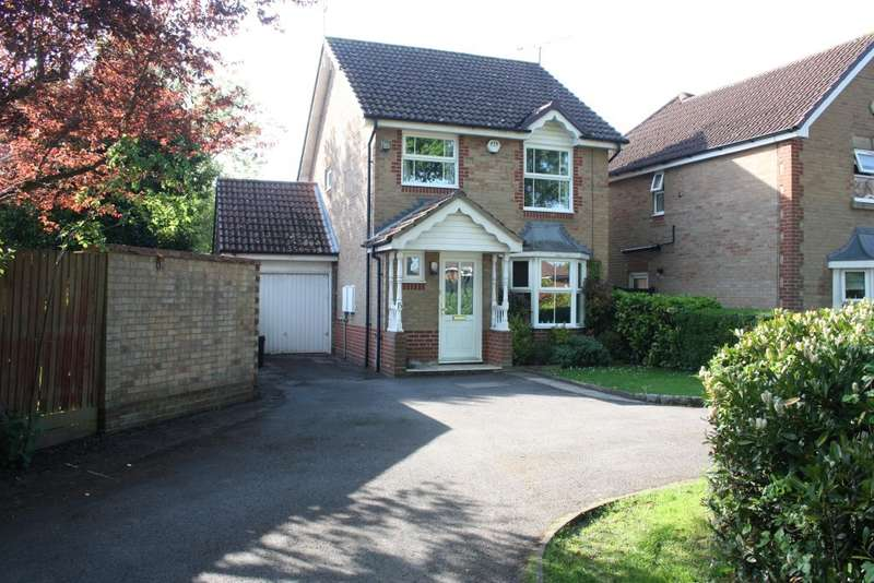 3 Bedrooms Detached House for sale in Mannock Way, Woodley, Reading, RG5
