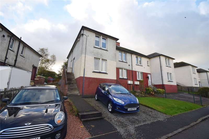 3 Bedrooms Flat for sale in Prospect Drive, Ashgill, Larkhall, South Lanarkshire, ML9