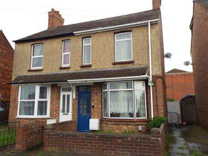 3 Bedrooms Semi Detached House for sale in Bunyan Road, Kempston, Bedford, Bedfordshire