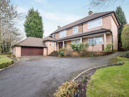 5 Bedrooms Detached House for sale in Ringley Road, Whitefield, Manchester, Greater Manchester