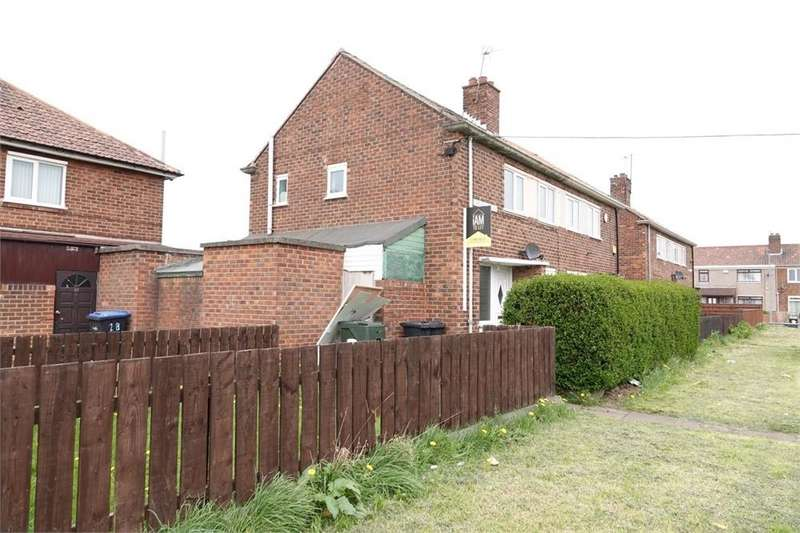 2 Bedrooms Semi Detached House for rent in Copnor Walk, Park End
