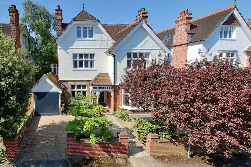 6 Bedrooms Detached House for sale in Ridgway Gardens, Wimbledon, London, SW19