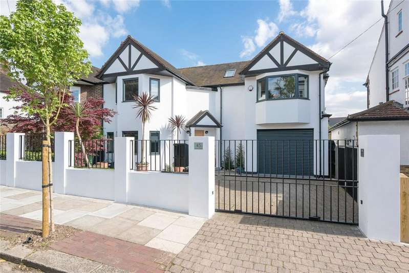 4 Bedrooms Semi Detached House for sale in Seymour Road, London, SW18, SW18