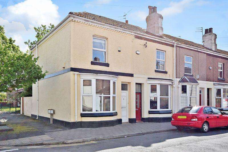 2 Bedrooms End Of Terrace House for sale in Vine Street, Widnes