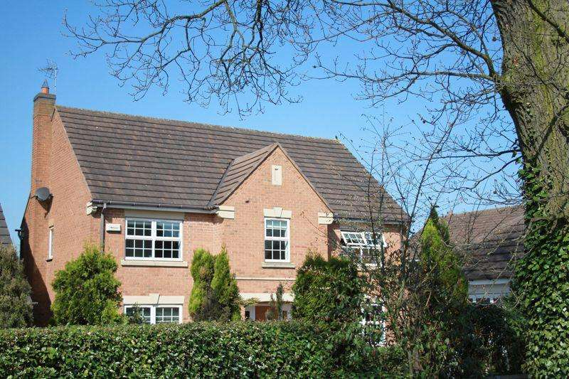 4 Bedrooms Detached House for sale in Sunningdale Road, Coalville