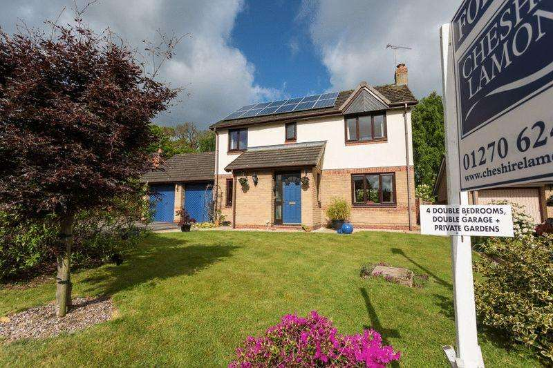 4 Bedrooms Detached House for sale in Dovecote Close, Wistaston