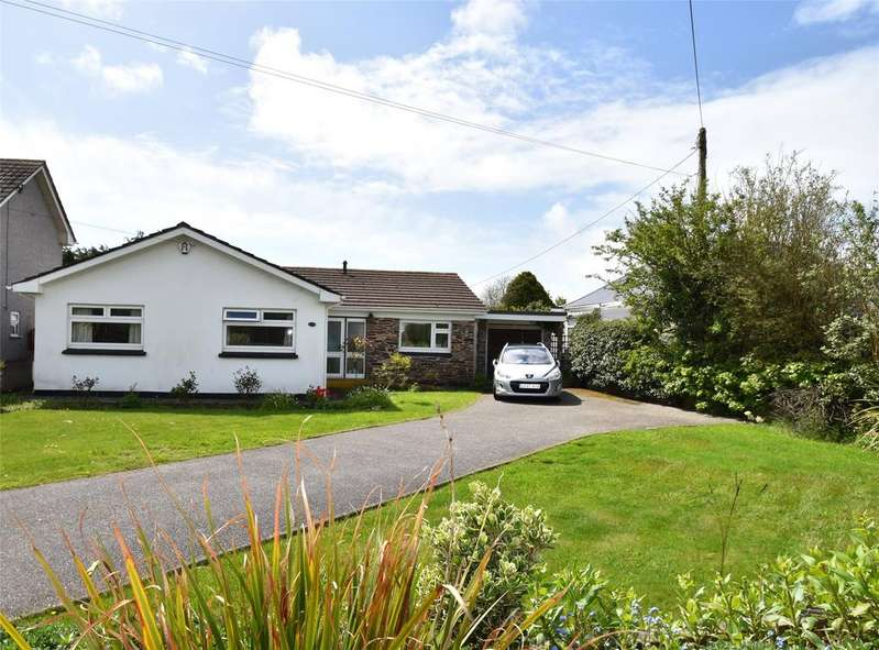 3 Bedrooms Detached Bungalow for sale in Treloggan Road, Newquay