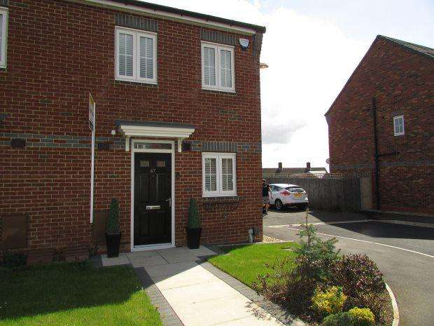 2 Bedrooms Semi Detached House for sale in WESTFIELDS, BRIERTON, HARTLEPOOL