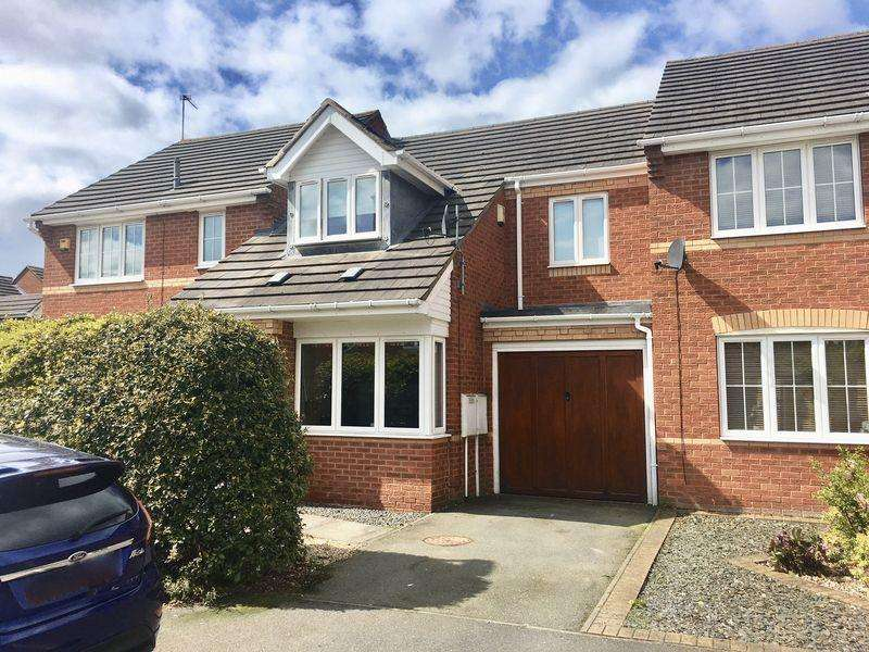 3 Bedrooms Terraced House for sale in Hampton Close, Coalville