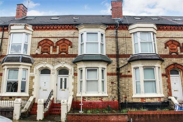 5 Bedrooms Terraced House for sale in Carisbrooke Road, Liverpool, Merseyside