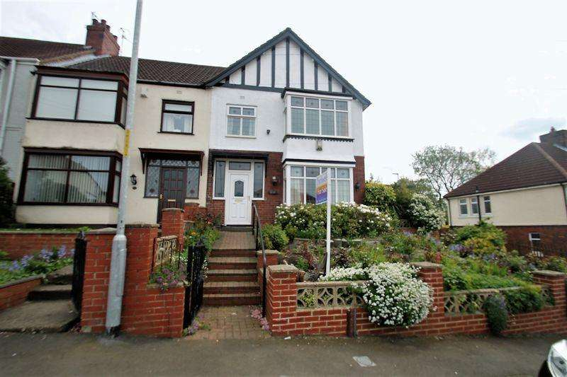 3 Bedrooms Terraced House for sale in Parklands Avenue, Billingham