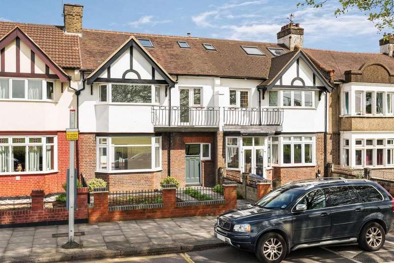 4 Bedrooms Terraced House for sale in Eastfields Road, North Acton