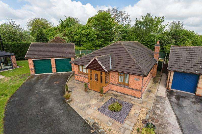 3 Bedrooms Bungalow for sale in Dovecote Close, Wistaston