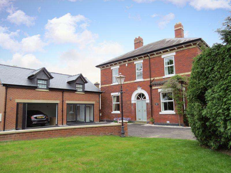 5 Bedrooms Detached House for sale in Orchard House, Ellesmere Road, Shrewsbury, SY1 2RQ