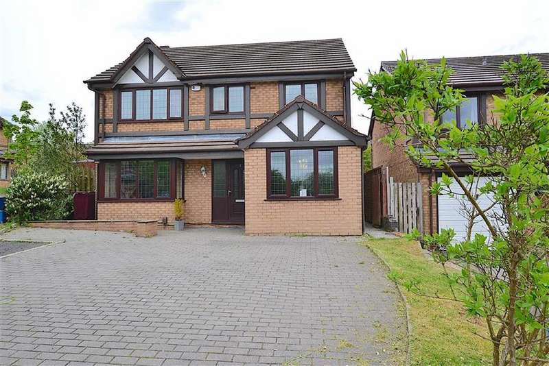 4 Bedrooms Detached House for sale in Whittaker Close, Burnley, Lancashire