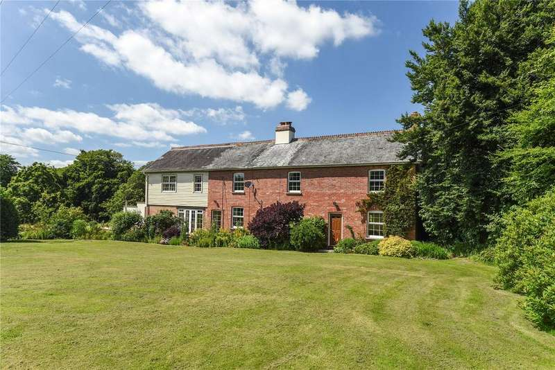 4 Bedrooms Detached House for sale in Rackenford, Tiverton, Devon