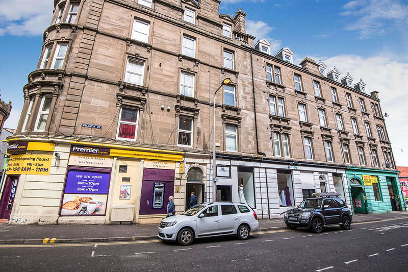 2 Bedrooms Flat for sale in Gellatly Street, Dundee, DD1