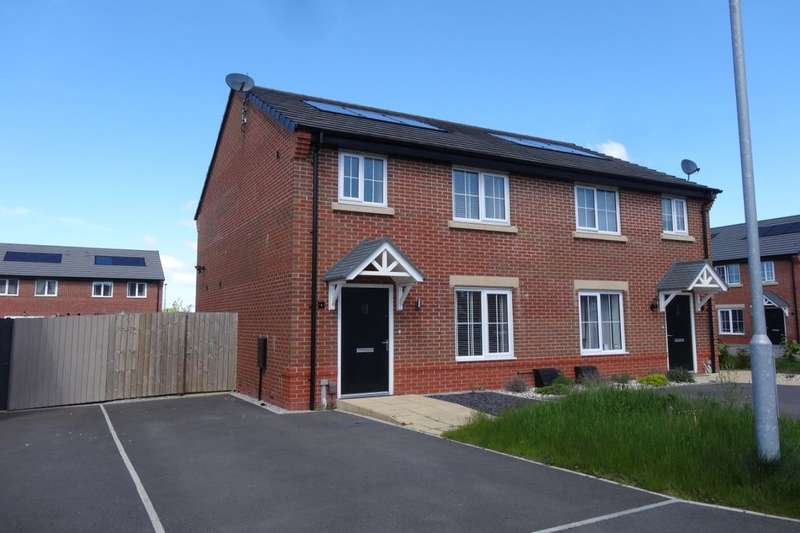 3 Bedrooms Semi Detached House for sale in Oxbridge Road, Cottam, Preston, PR4