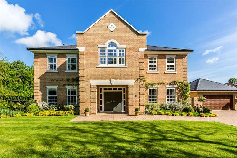 5 Bedrooms Detached House for sale in Woolley Avenue, Littlewick Green, Maidenhead, Berkshire, SL6