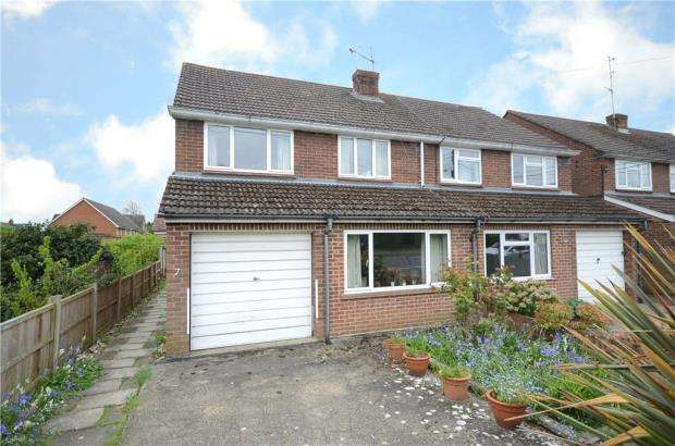 3 Bedrooms Semi Detached House for sale in Richmond Road, College Town, Sandhurst