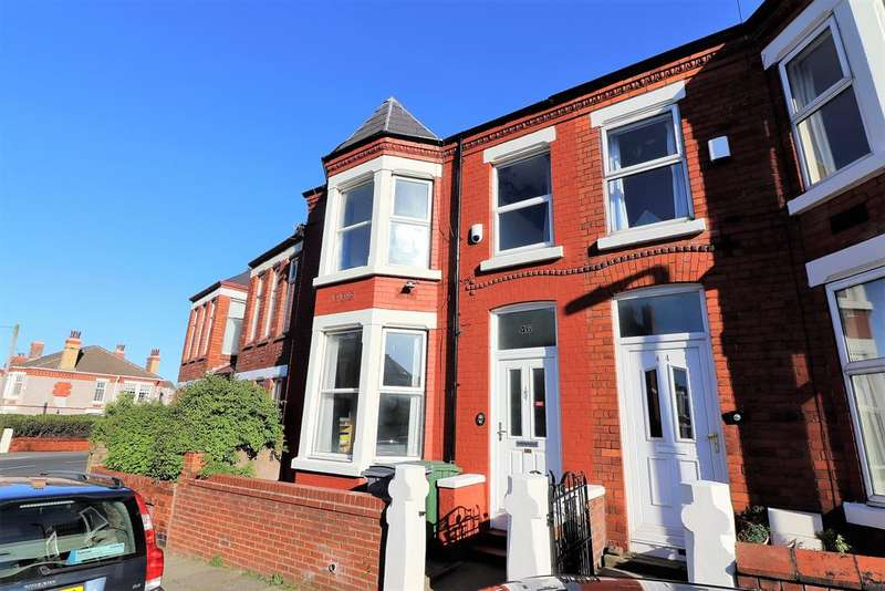 4 Bedrooms Terraced House for sale in Magazine Lane, Wallasey, CH45 1LU