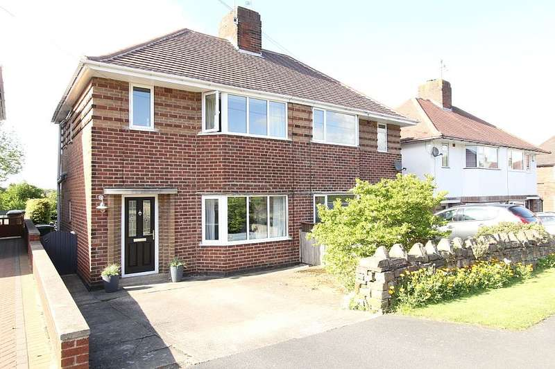 3 Bedrooms Semi Detached House for sale in Orchards Way, CHESTERFIELD, Derbyshire, S40 3DA