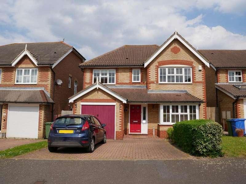 4 Bedrooms Detached House for rent in Woolbrook Close , Rainham , Kent