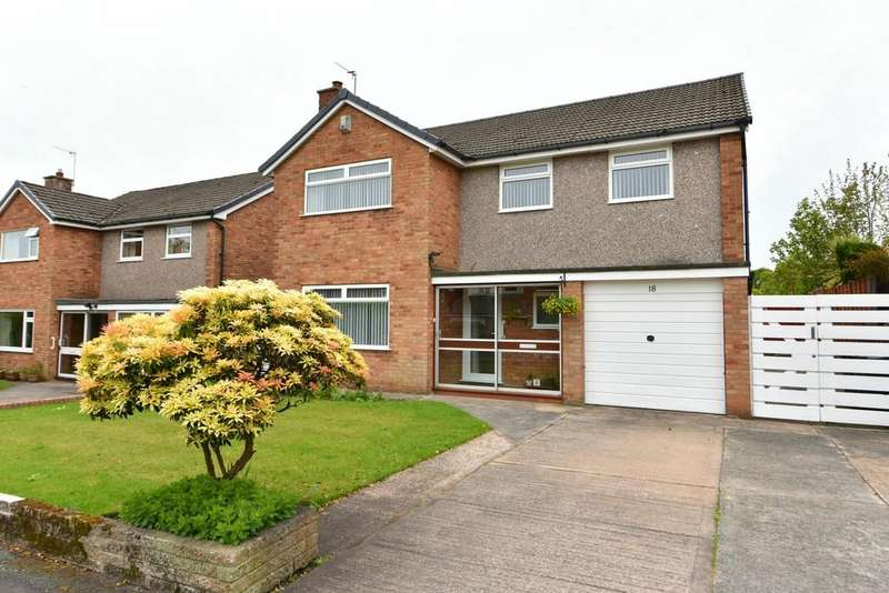 4 Bedrooms Detached House for sale in Norris House Drive, Aughton
