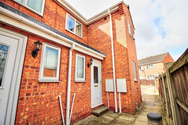 2 Bedrooms Town House for sale in Stamford Court, Heanor